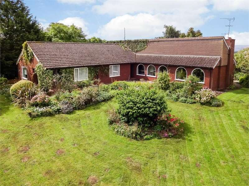 4 Bedrooms Detached Bungalow for sale in Portway, Burghill, Herefordshire