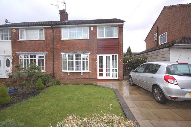 3 Bedrooms Semi Detached House for sale in East Avenue, Heald Green, Cheadle, Cheshire SK8