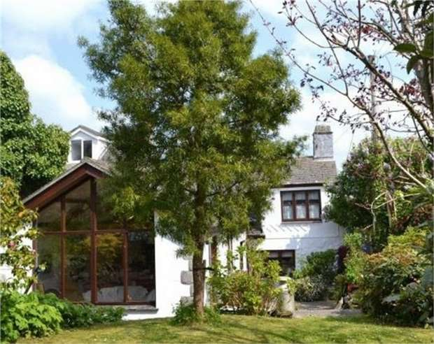 4 Bedrooms End Of Terrace House for sale in Tyringham Road, Lelant, St Ives, Cornwall