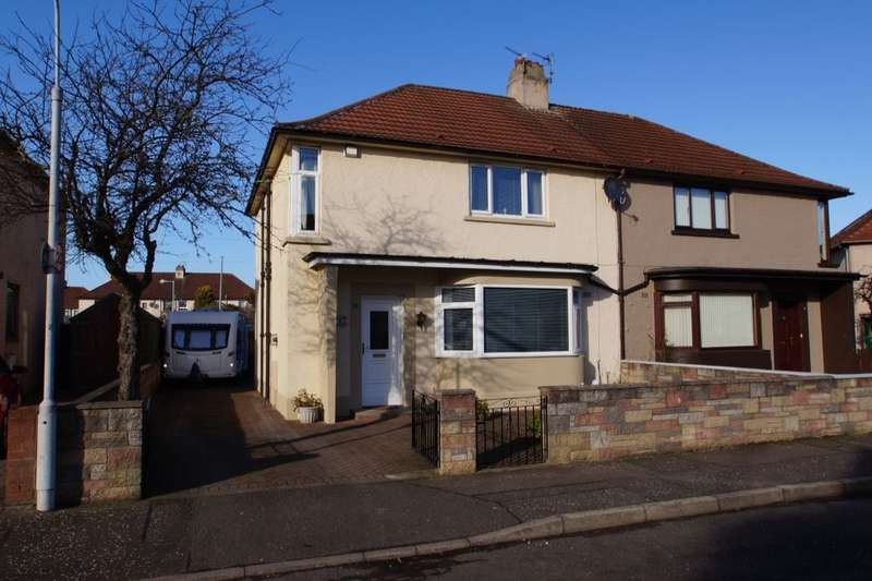 4 Bedrooms Semi Detached House for sale in Gilmour Avenue, Leven, KY8