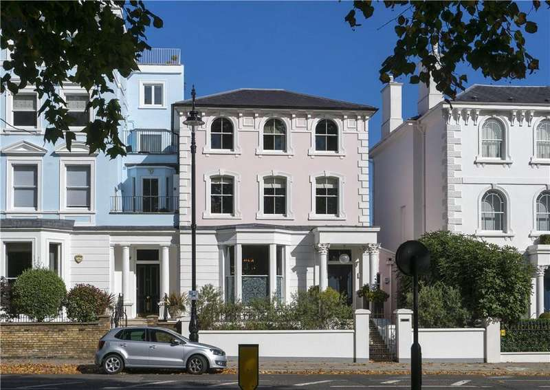 4 Bedrooms Semi Detached House for sale in Regents Park Road, Primrose Hill, London, NW1
