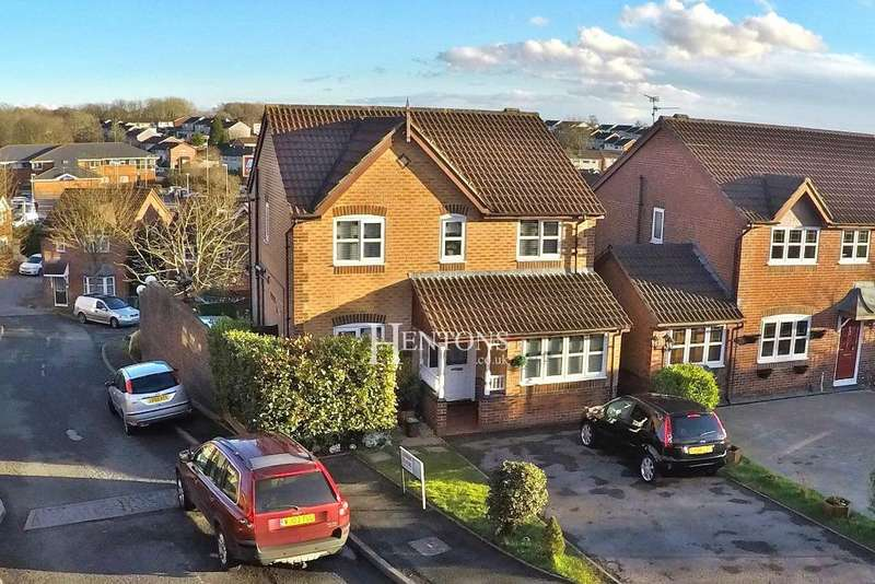 4 Bedrooms Detached House for sale in Lovage Close, Pontprennau, Cardiff