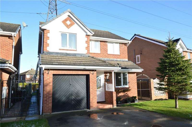4 Bedrooms Detached House for sale in Hollins Beck Close, Kippax, Leeds, West Yorkshire