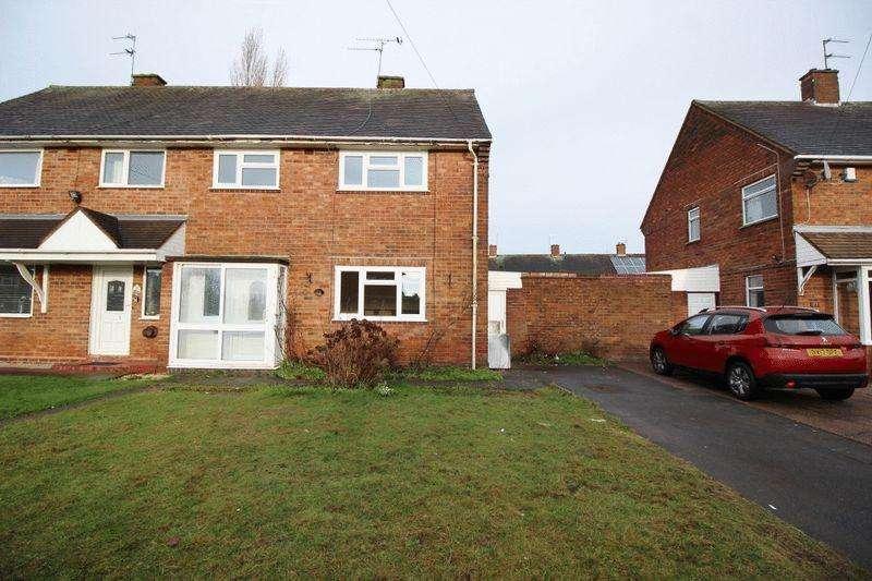 3 Bedrooms Semi Detached House for sale in Slade Road, Wolverhampton