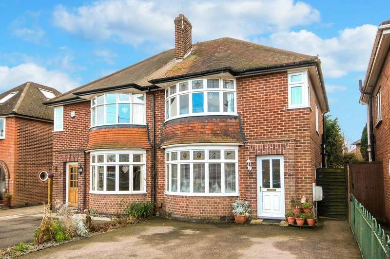 3 Bedrooms Semi Detached House for sale in Mayfield Drive, Loughborough