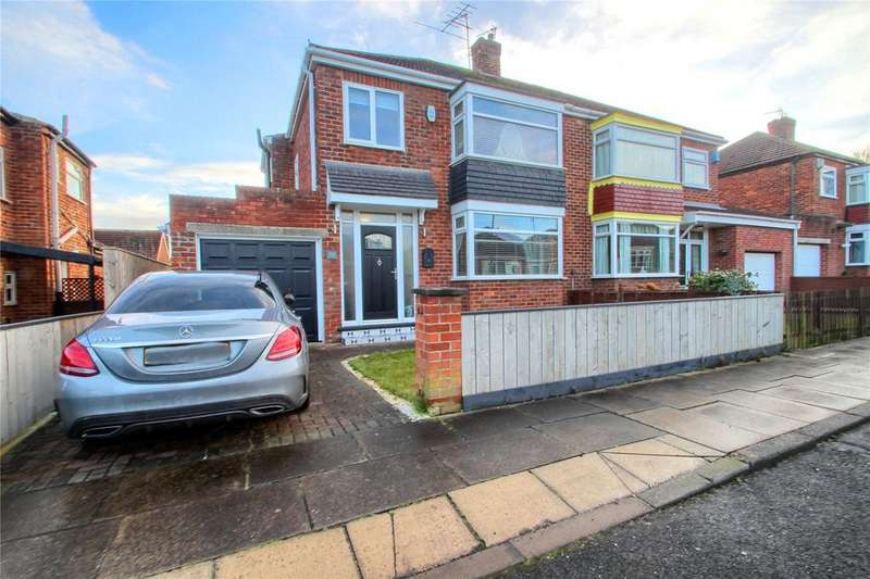 3 Bedrooms Semi Detached House for sale in Bromley Road, Hartburn