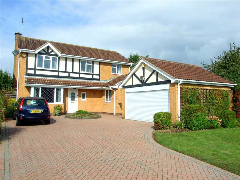 4 Bedrooms Detached House for sale in Coopers Close, Borrowash, Derby, Derbyshire, DE72