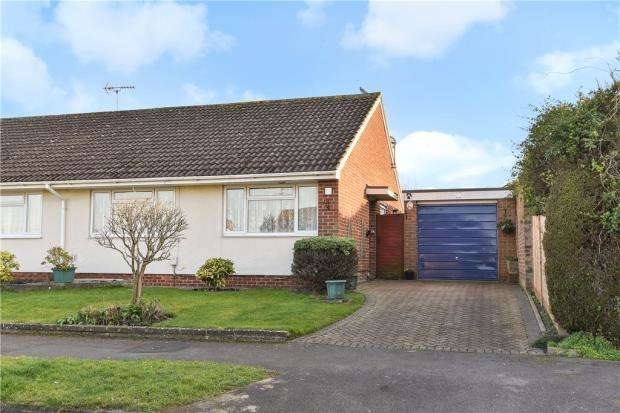 3 Bedrooms Semi Detached Bungalow for sale in Partridge Avenue, Yateley, Hampshire