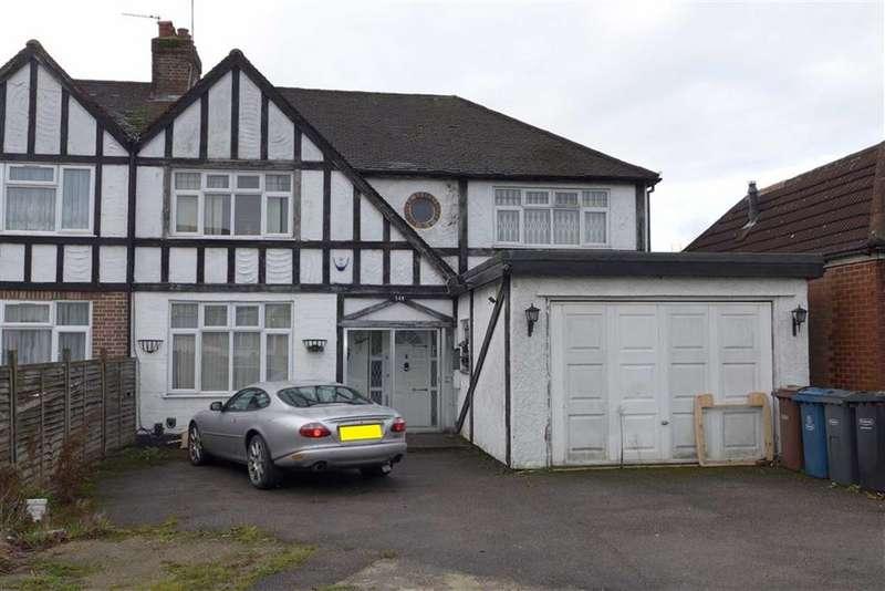 4 Bedrooms Semi Detached House for sale in Kenton Lane, Harrow Weald, Middlesex