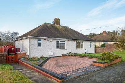 1 Bedroom Bungalow for sale in Garrick Road, Cannock, Staffordshire, Staffs