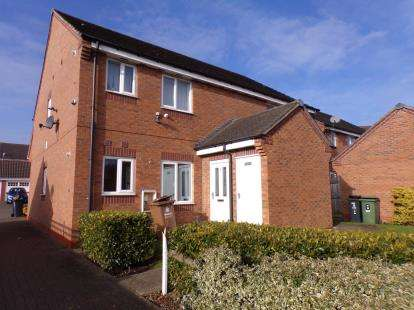 1 Bedroom Maisonette Flat for sale in Southmead Way, Walsall, West Midlands