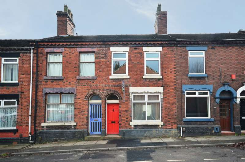 3 Bedrooms Terraced House for sale in Jenkins Street, Burslem, Stoke-on-Trent ST6