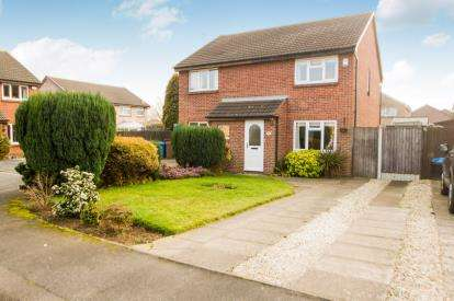 2 Bedrooms Semi Detached House for sale in Bishopdale Close, Long Eaton, Nottingham