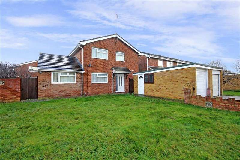 4 Bedrooms Detached House for sale in Elmore, Eldene, Swindon