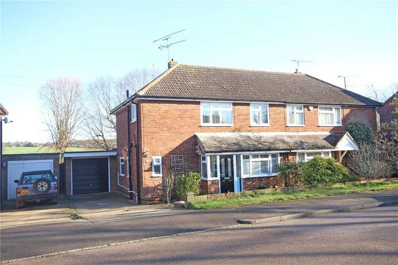 3 Bedrooms Semi Detached House for sale in Springfield Crescent, Harpenden, Hertfordshire