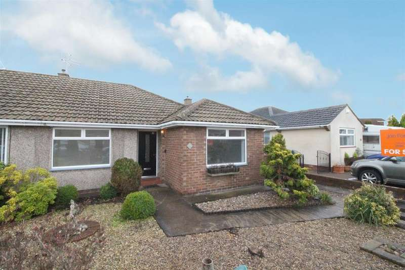 2 Bedrooms Semi Detached Bungalow for sale in Grindon Close, Whitley Bay