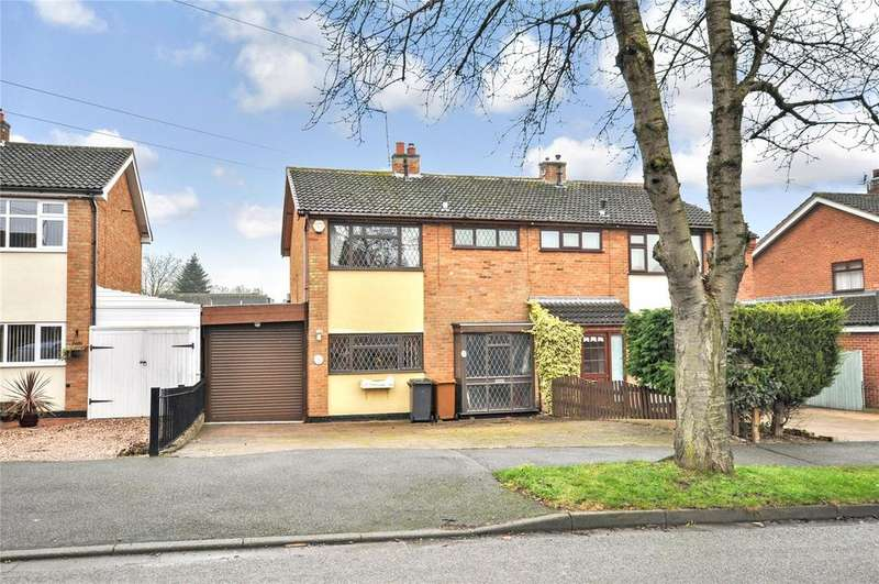3 Bedrooms Semi Detached House for sale in Valley Road, Melton Mowbray, Leicestershire