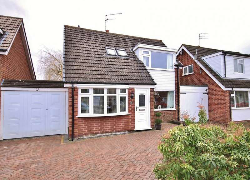 2 Bedrooms Link Detached House for sale in Caldy Road, Handforth