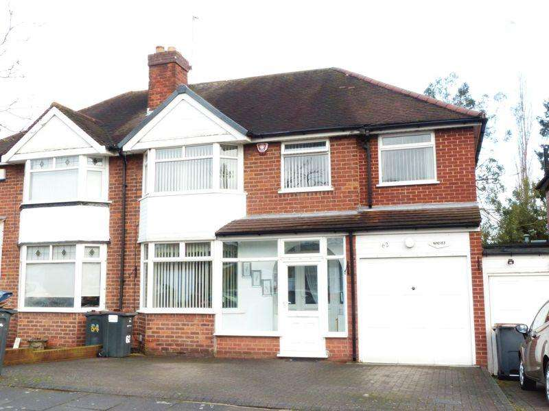 4 Bedrooms Semi Detached House for sale in Donegal Road, Sutton Coldfield