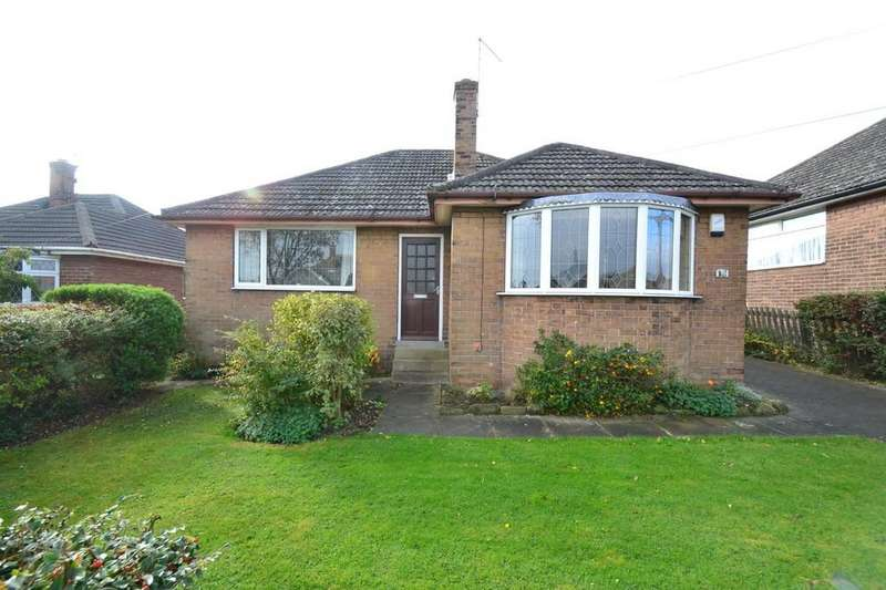 2 Bedrooms Detached Bungalow for sale in Norwood Road, Hemsworth