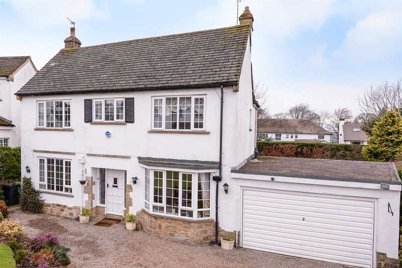 4 Bedrooms Detached House for sale in Southway, Guiseley, Leeds, LS20 8JQ