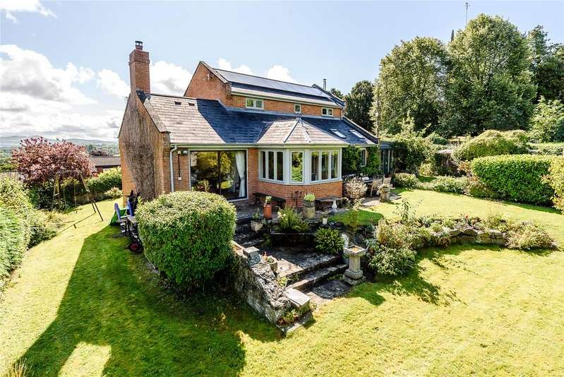 4 Bedrooms Detached House for sale in Church Bank, Montgomery, Powys