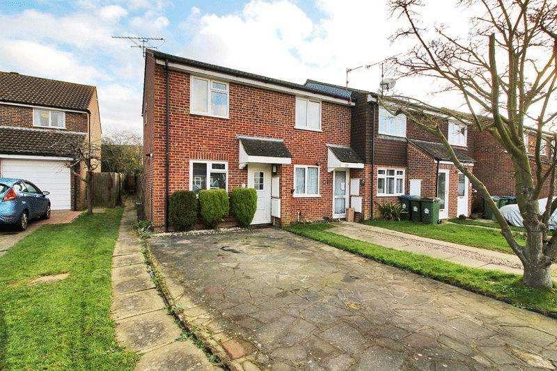 2 Bedrooms End Of Terrace House for sale in Hazelhurst Crescent, Horsham