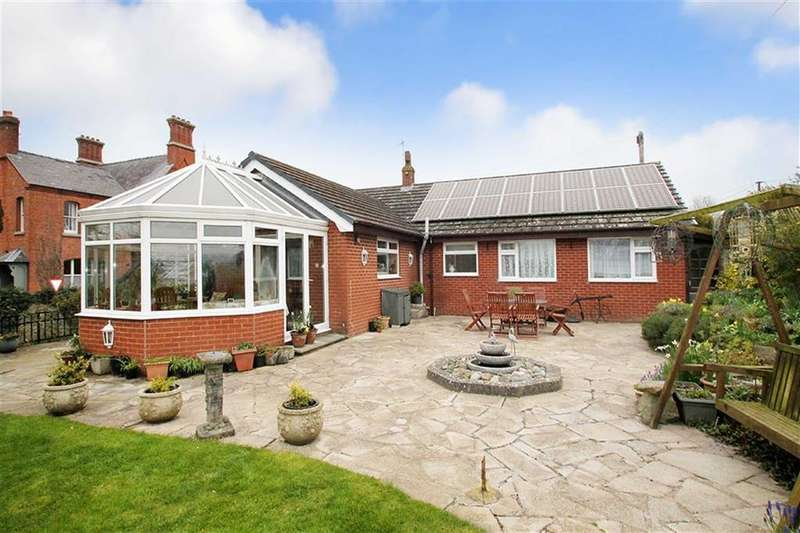 3 Bedrooms Detached Bungalow for sale in Montgomery, Powys
