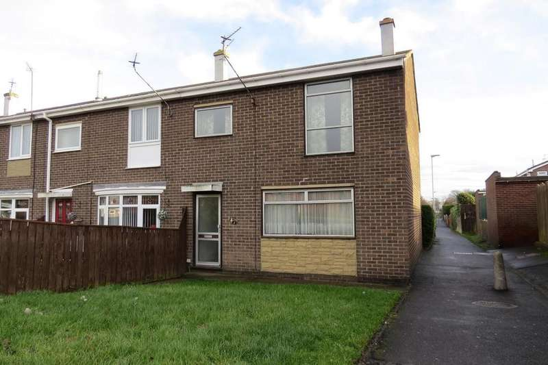 3 Bedrooms End Of Terrace House for sale in Oakville, North Seaton, Ashington