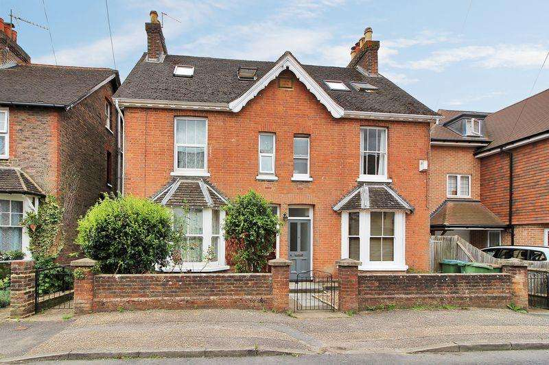 4 Bedrooms Semi Detached House for sale in Denne Parade, Horsham