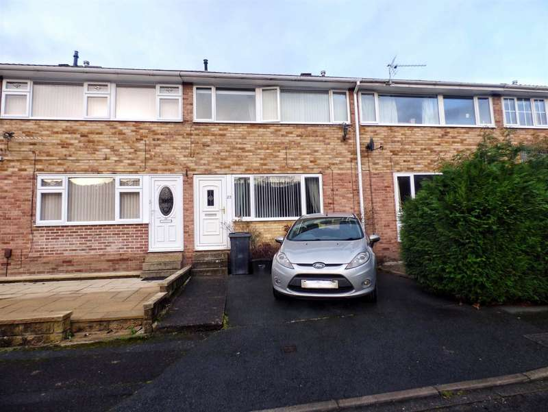 3 Bedrooms Terraced House for sale in Copley Glen, Copley, HALIFAX, West Yorkshire, HX3