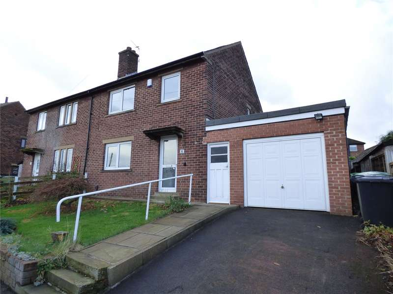 3 Bedrooms Semi Detached House for rent in Bradshaw Avenue, Honley, Holmfirth, West Yorkshire, HD9