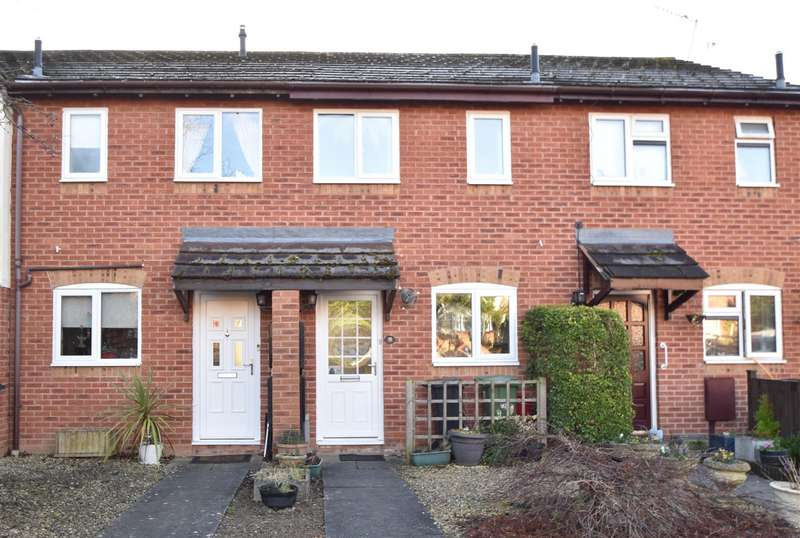2 Bedrooms Terraced House for sale in Coppice Way, Droitwich