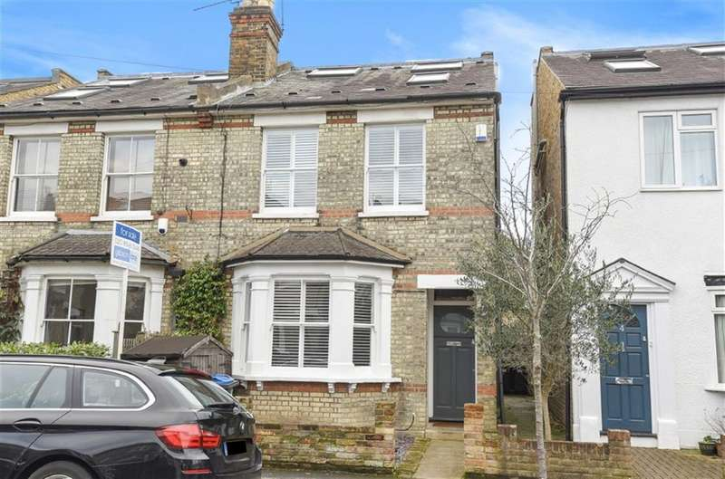 3 Bedrooms Semi Detached House for sale in Osborne Road, Kingston Upon Thames