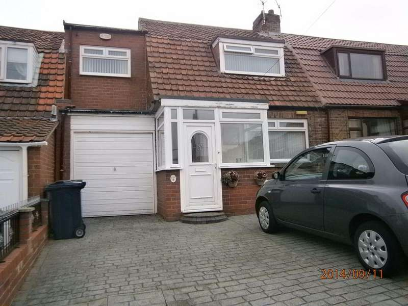 2 Bedrooms Semi Detached House for sale in Percy Gardens, Dunston, Gateshead NE11