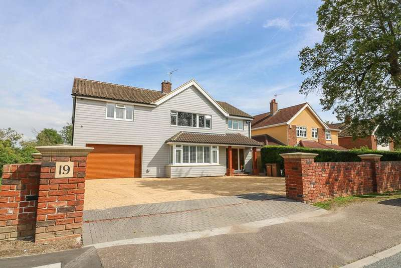 5 Bedrooms Detached House for sale in Church Road, Ramsden Heath CM11