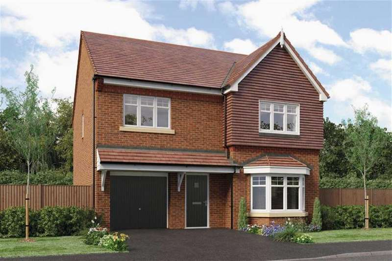4 Bedrooms Detached House for sale in Sovereign Park, Oteley Road, Shrewsbury