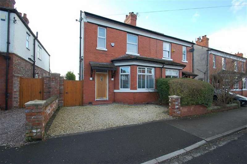 3 Bedrooms Semi Detached House for sale in Woodfield Road, Cheadle Hulme, Cheshire