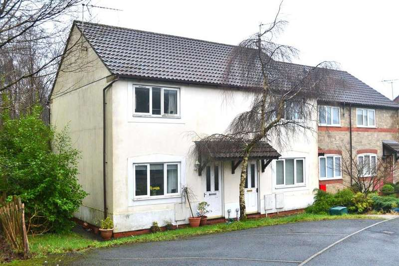 2 Bedrooms Semi Detached House for sale in Bryn Bach, Penllergaer, Swansea