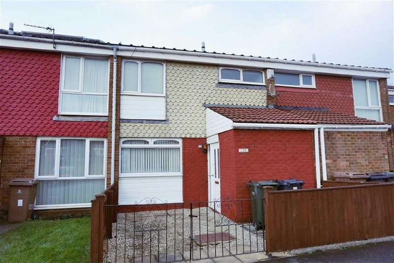 3 Bedrooms Terraced House for sale in Bowness Avenue, Battle Hill, Tyne And Wear, NE28