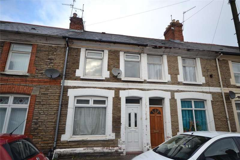 3 Bedrooms Terraced House for sale in Treharris Street, Roath, Cardiff, CF24