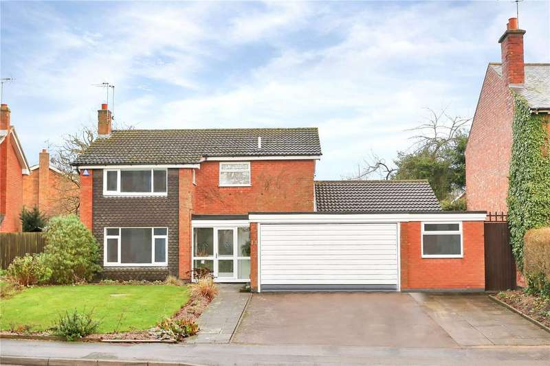 4 Bedrooms Detached House for sale in Church Road, Evington, Leicester