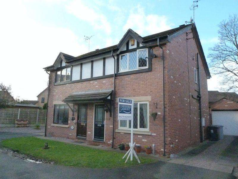 3 Bedrooms Semi Detached House for sale in Birchwood Drive, Nantwich