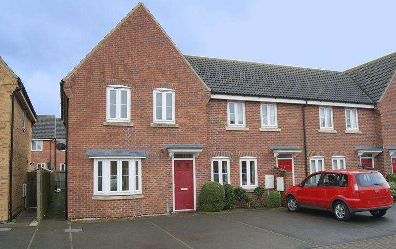3 Bedrooms End Of Terrace House for sale in Ormonde Close, Grantham