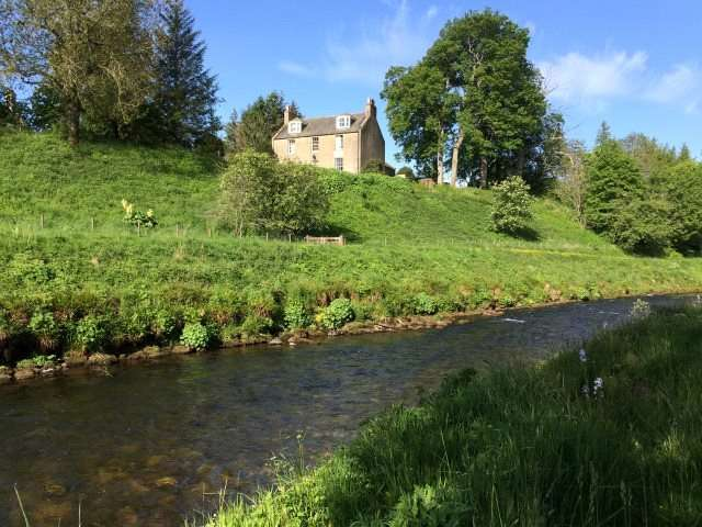 5 Bedrooms Detached House for sale in The Old Manse Of Towie, Glenkindie, Alford, Aberdeenshire, AB33