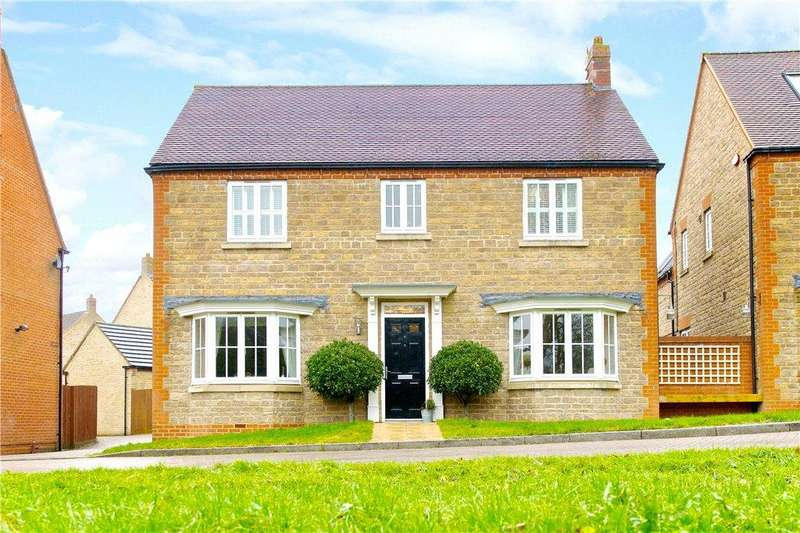 4 Bedrooms Detached House for sale in Sheridan Grove, Oxley Park, Milton Keynes, Buckinghamshire