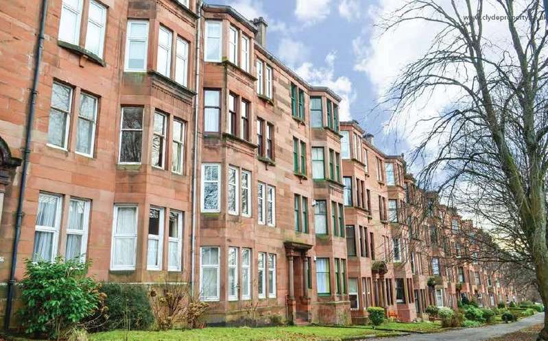 1 Bedroom Flat for sale in Woodcroft Avenue, Flat 3/1, Broomhill, Glasgow, G11 7HY