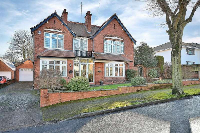 4 Bedrooms Detached House for sale in Alexandra Avenue, Mansfield
