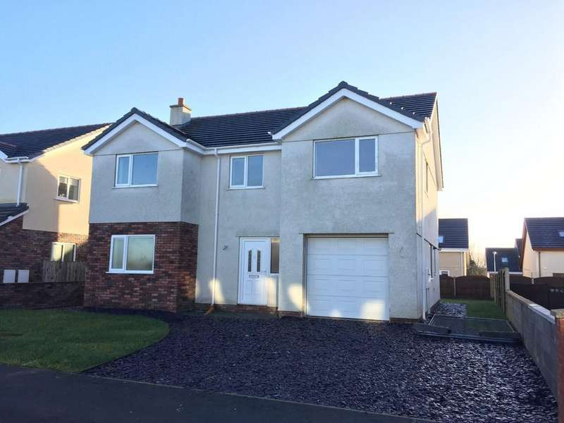 4 Bedrooms Detached House for sale in Cwr Y Coed, Llangefni, North Wales