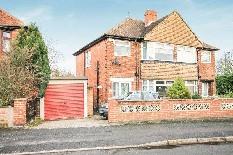 3 Bedrooms Semi Detached House for sale in JUBILEE ROAD, SHELTON LOCK.